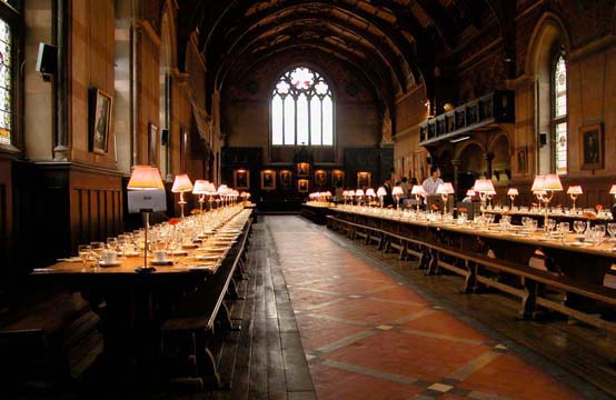 Elroy S Quot Keble College Dining Hall Oxford Gb Quot